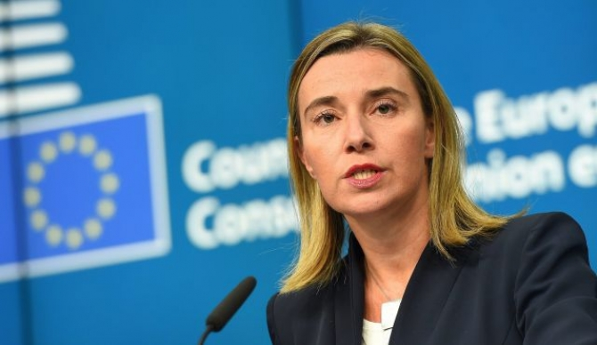 Mustafa and Vucic to meet in January, says Mogherini