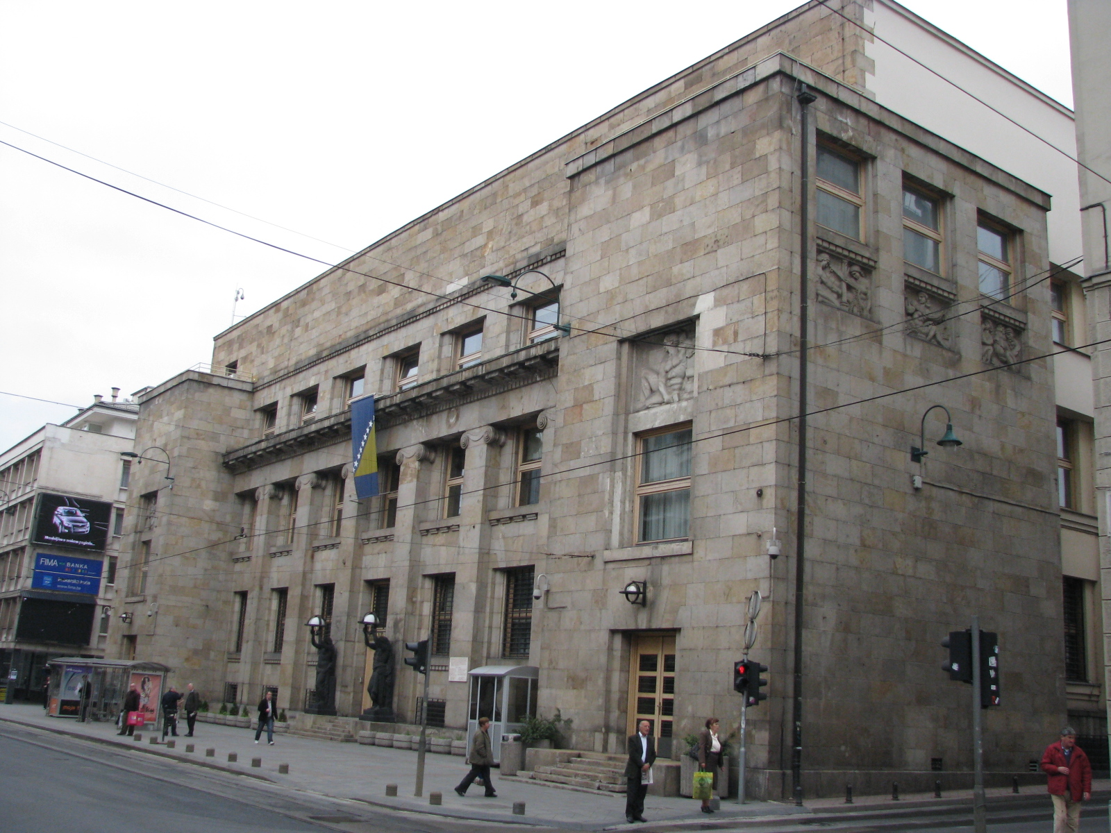 Vault Employee robbed the BiH Central Bank