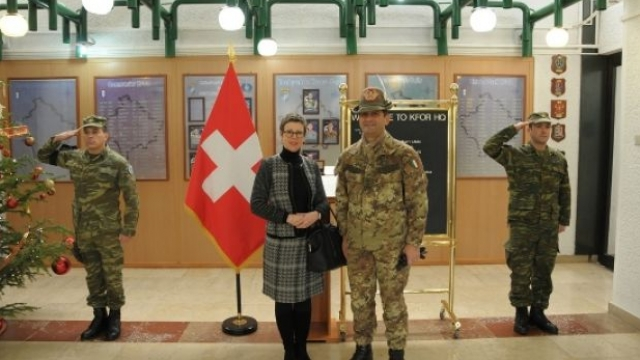 Switzerland helps KFOR in the north of Kosovo