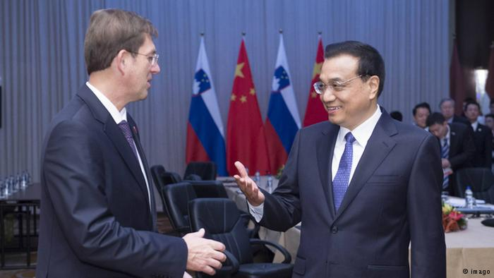 Slovenian PM discusses economic cooperation with Chinese and Serbian PMs