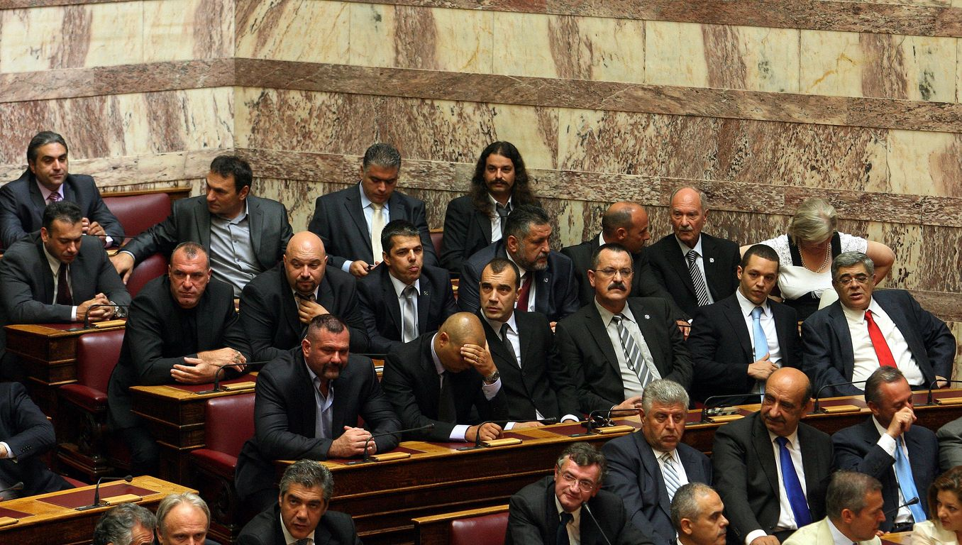 Golden Dawn: We go to the House to vote against the Memorandum presidential candidate