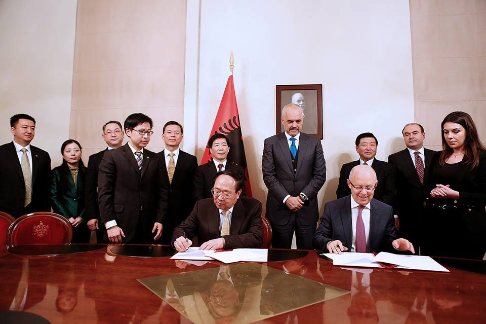 Albania signs a deal with Chinese Exim Bank for the funding of several projects in infrastructure