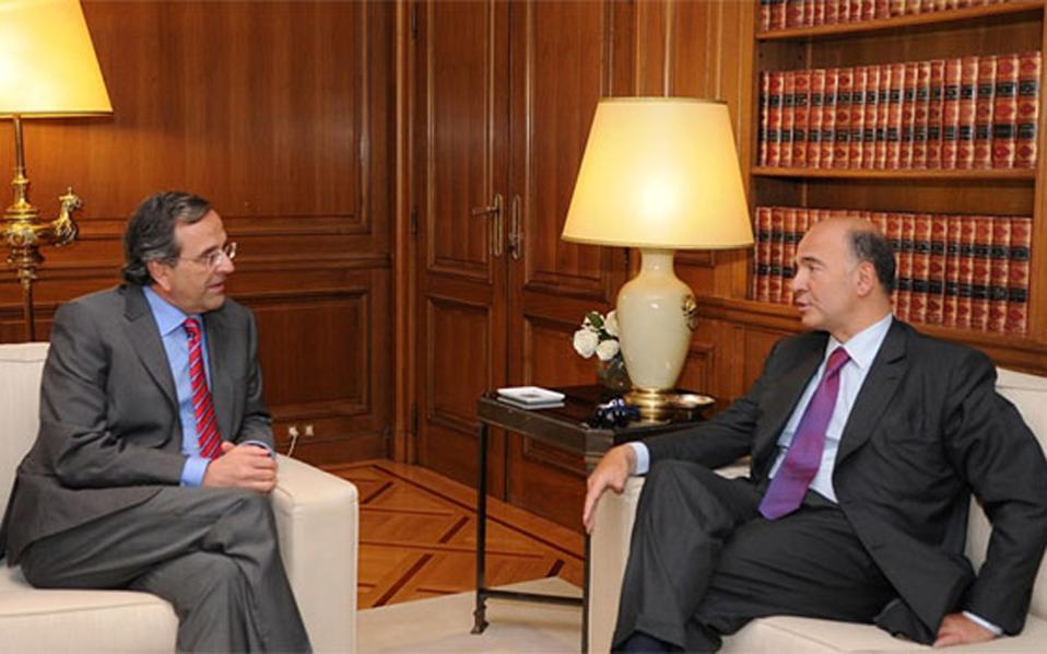Moscovici sends strong message of support to Greek government