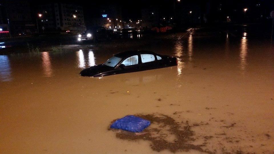 Floods hit Larnaka