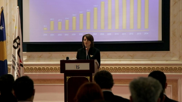 Economic crisis is causing insecurities, says Kosovo's president