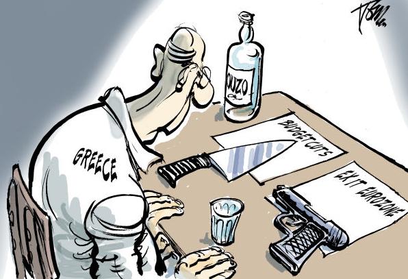The new Greek crisis through British eyes