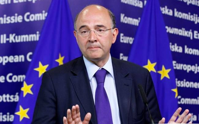Moscovici visits Athens; no plans to meet with SYRIZA leader