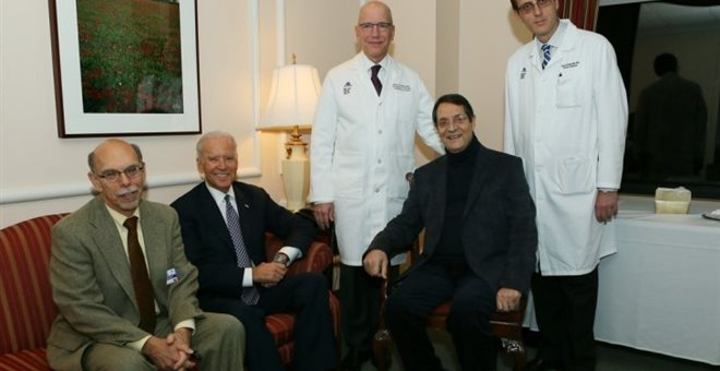 Nicos Anastasiades was discharged from the hospital