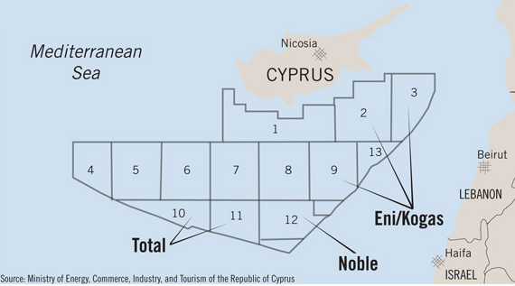 Cypriots scrutinise UK stance over their EEZ and Turkey's EU accession