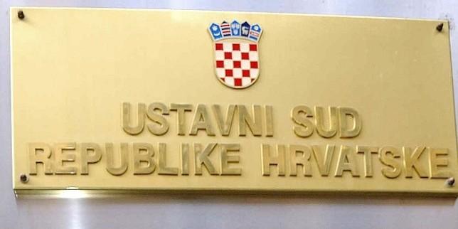 Constitutional Court in Croatia bans referendum on change of the electoral legislation