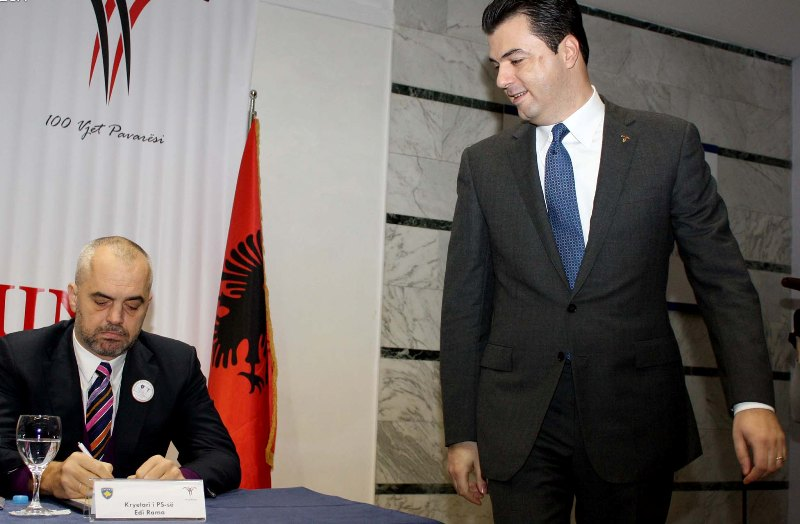 Negotiations between Tirana and Brussels to reconcile the Albanian left wing and right wing