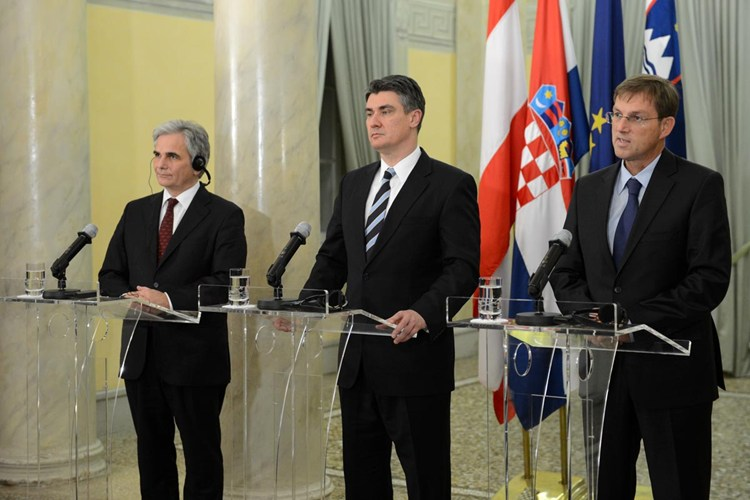 Prime Ministers of Austria, Slovenia and Croatia: We want investments that will generate smart, sustainable and inclusive growth