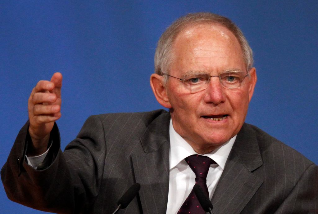 Schäuble: Good decision by Greece to speed up the presidential election