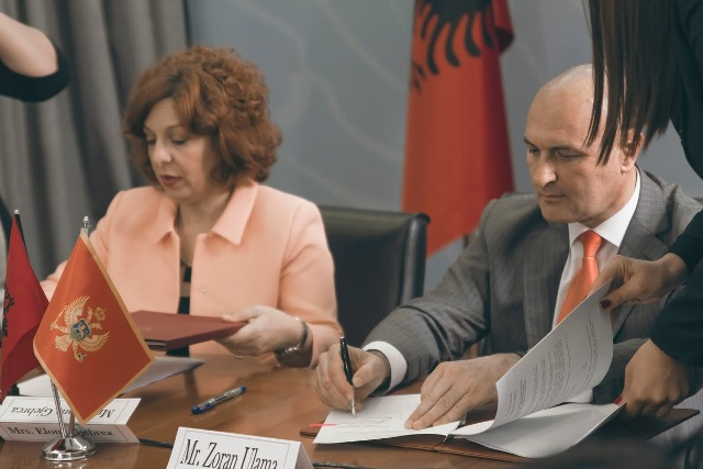 Albania and Montenegro sign a protocol for the fight against human traffic