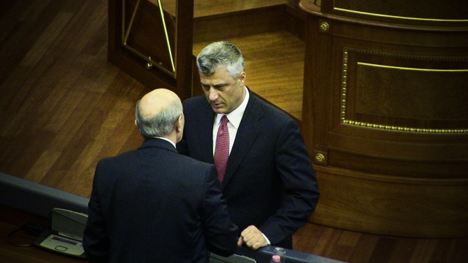 Parliament in Kosovo is expected to vote the new government today