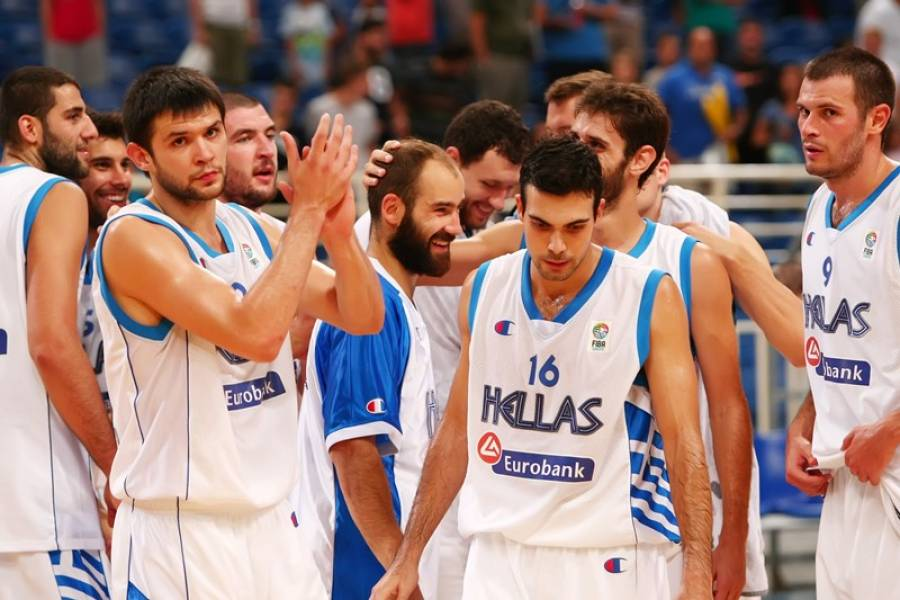 Greek National Team drawn in the 3rd Group of the Eurobasket 2015