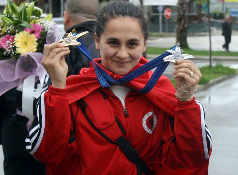 Albanian weightlifter Romela Begaj results positive in the anti-doping test