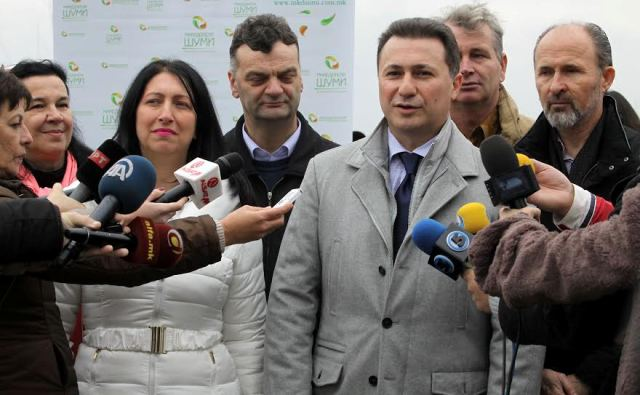 PM Gruevski rejects the accusations of the opposition for forged passports