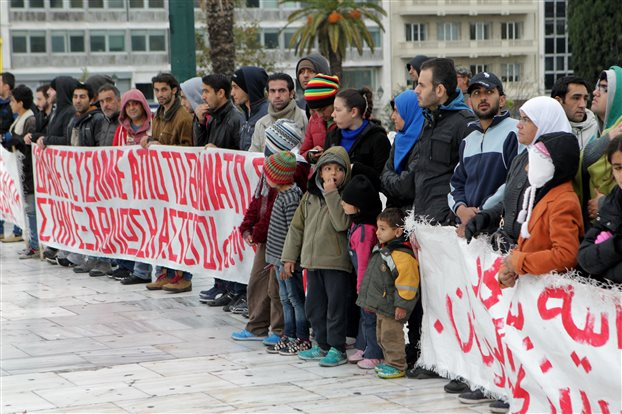 Greek Interior Ministry: Syrian refugees will be granted political asylum