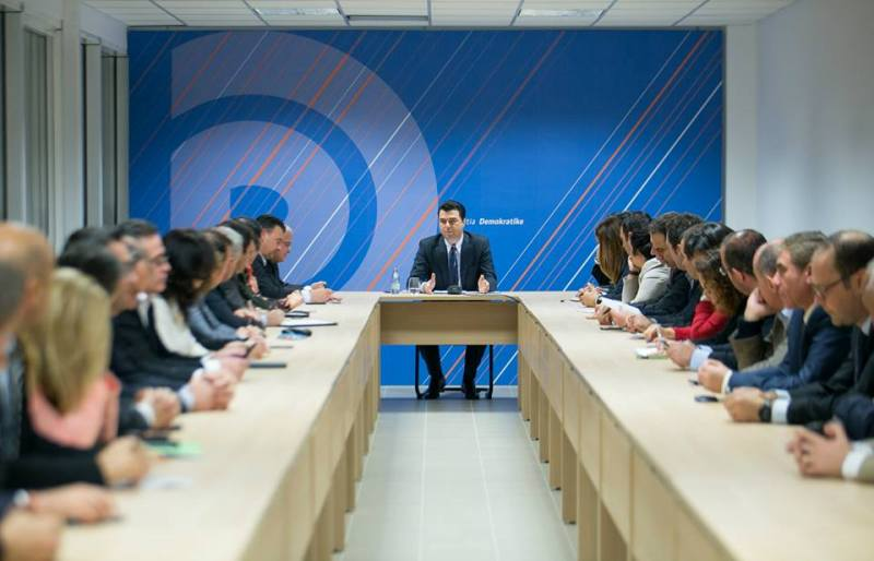 "Head of opposition identified the ""4 public lies"" of the Albanian PM"
