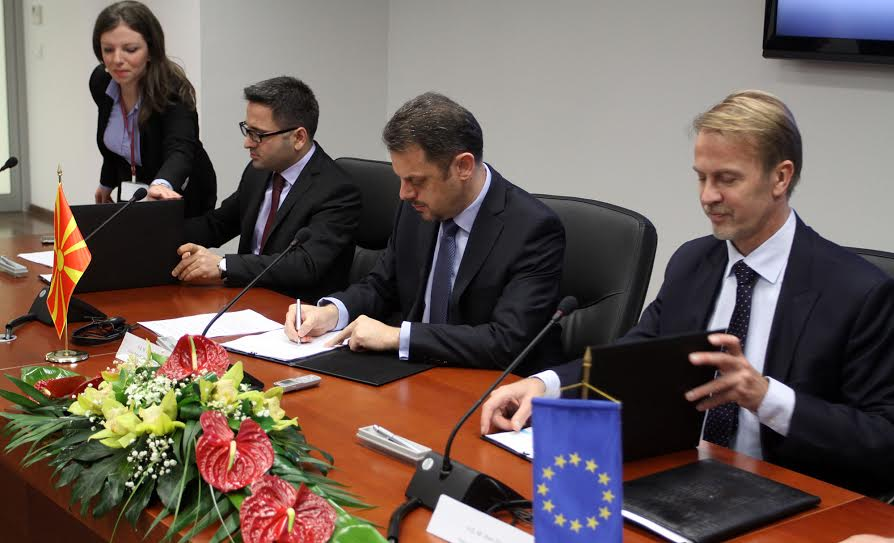 European Commission allocates 20 million Euros for the development of agriculture in FYROM
