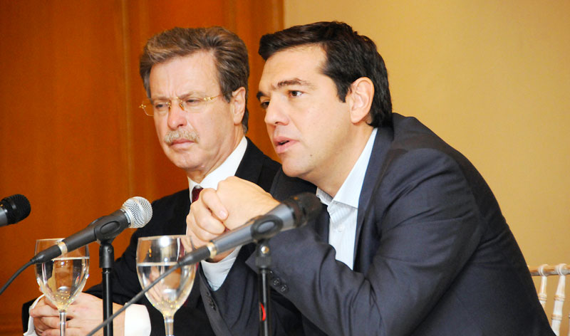 Tsipras to Greek-Italian Chamber: Sustainable solution for the European Region