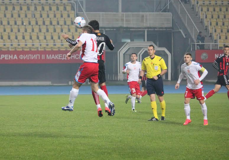 First part of the football season in FYROM comes to an end