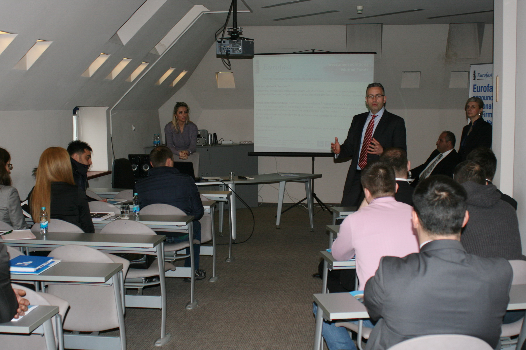 Eurofast continues to work with business people in BiH