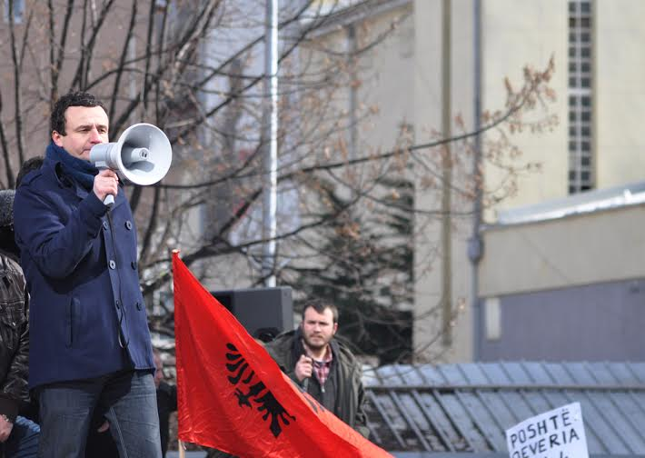 Next protest on Wednesday, says leader of Self Determination