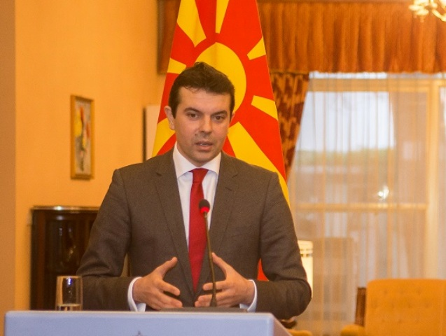 How does Skopje view relations with Greece after the victory of left radicals