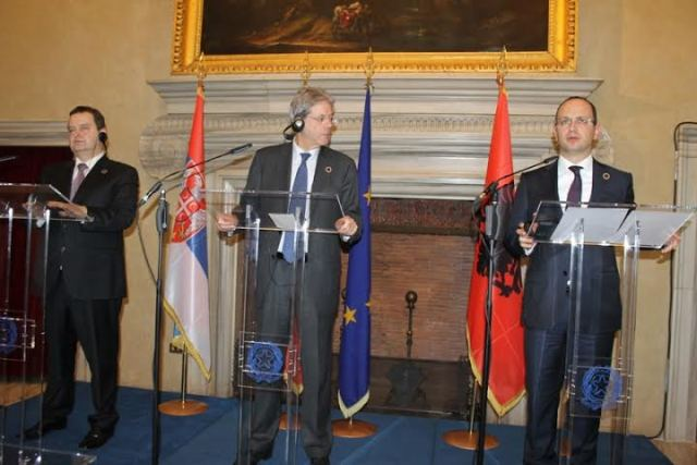 Trilateral meeting between Italy, Albania and Serbia held for the first time in Rome