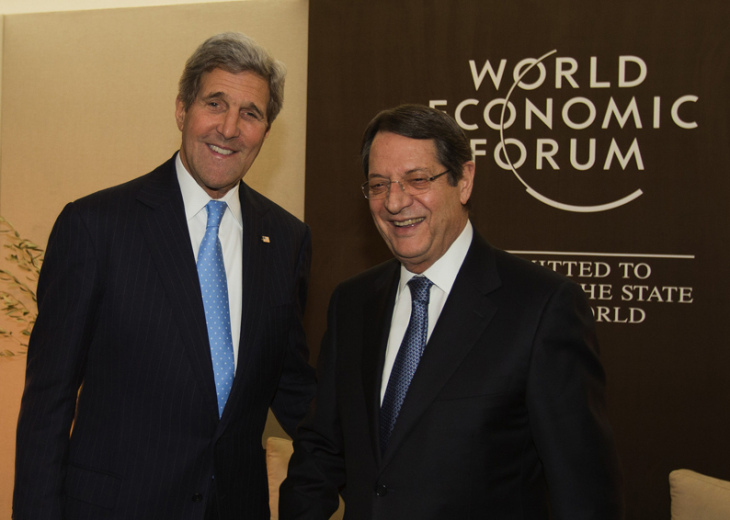 US is working for resumption of Cyprus talks