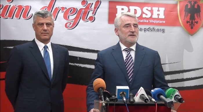 Thaci demands the unification of Albanian political forces in FYROM