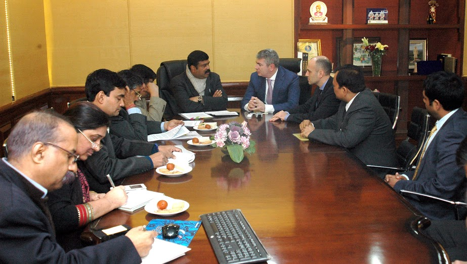 Albania demands India's experience in energy management