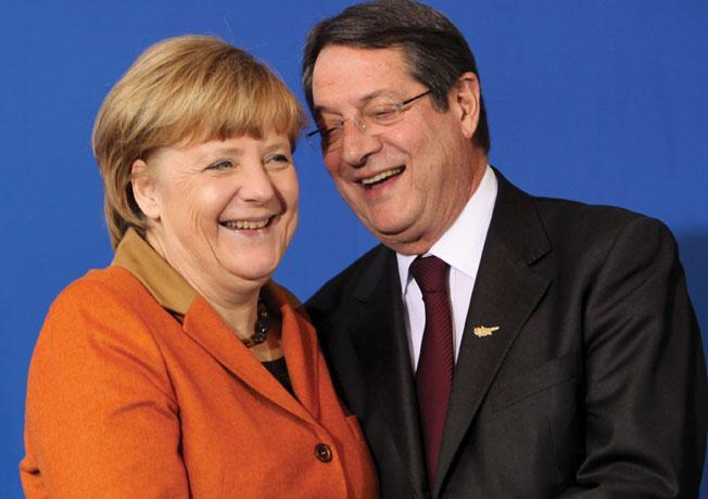 Merkel expressed hope for Cyprus developments