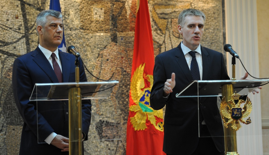 Relations between Montenegro and Kosovo are a good example of regional cooperation