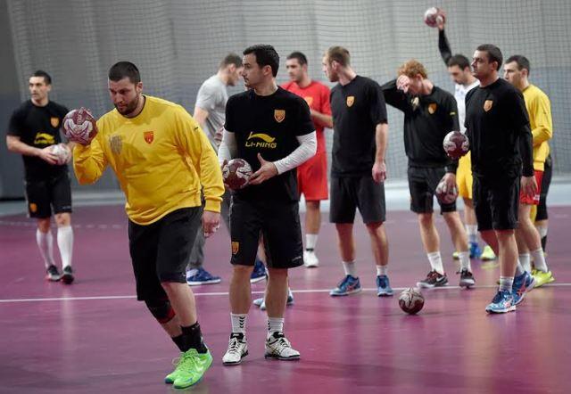 FYROM plays its first match against Tunisia