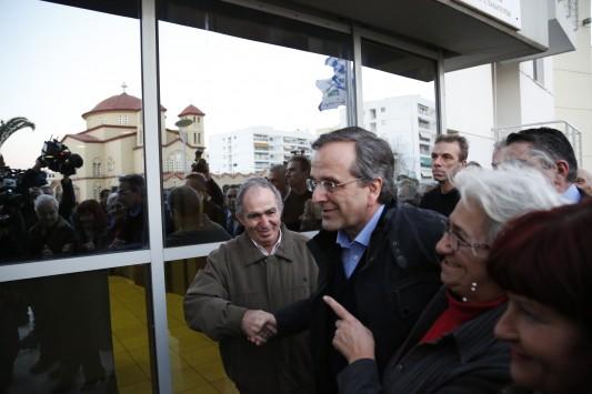 Samaras: Alliances even after a clear victory
