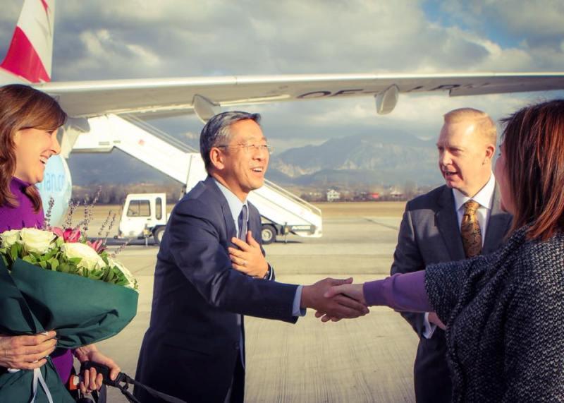 New US ambassador arrives in Albania