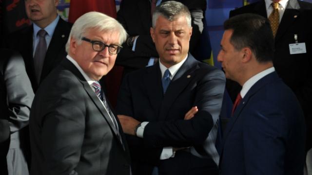 Steinmeier congratulates Foreign Minister Thaci on Kosovo's achievements