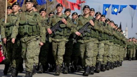 Creation of the Army of Kosovo only with international intervention