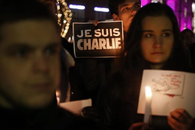 Reactions and religious messages against the terrorist act at Charlie Hebdo