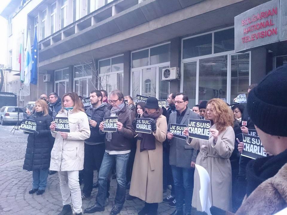 Bulgarian media express solidarity with Charlie Hebdo