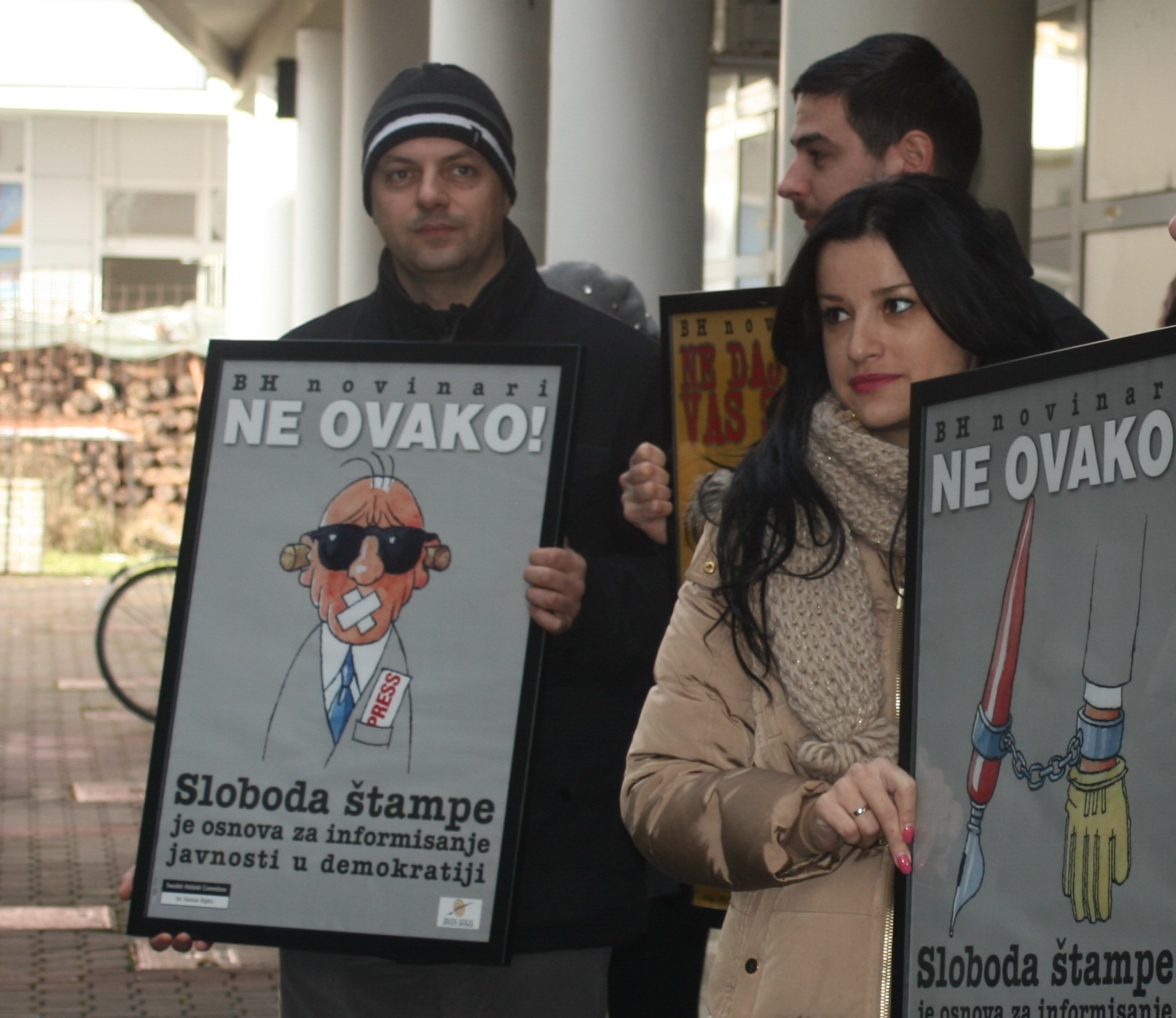 Journalists in BiH won the first fight