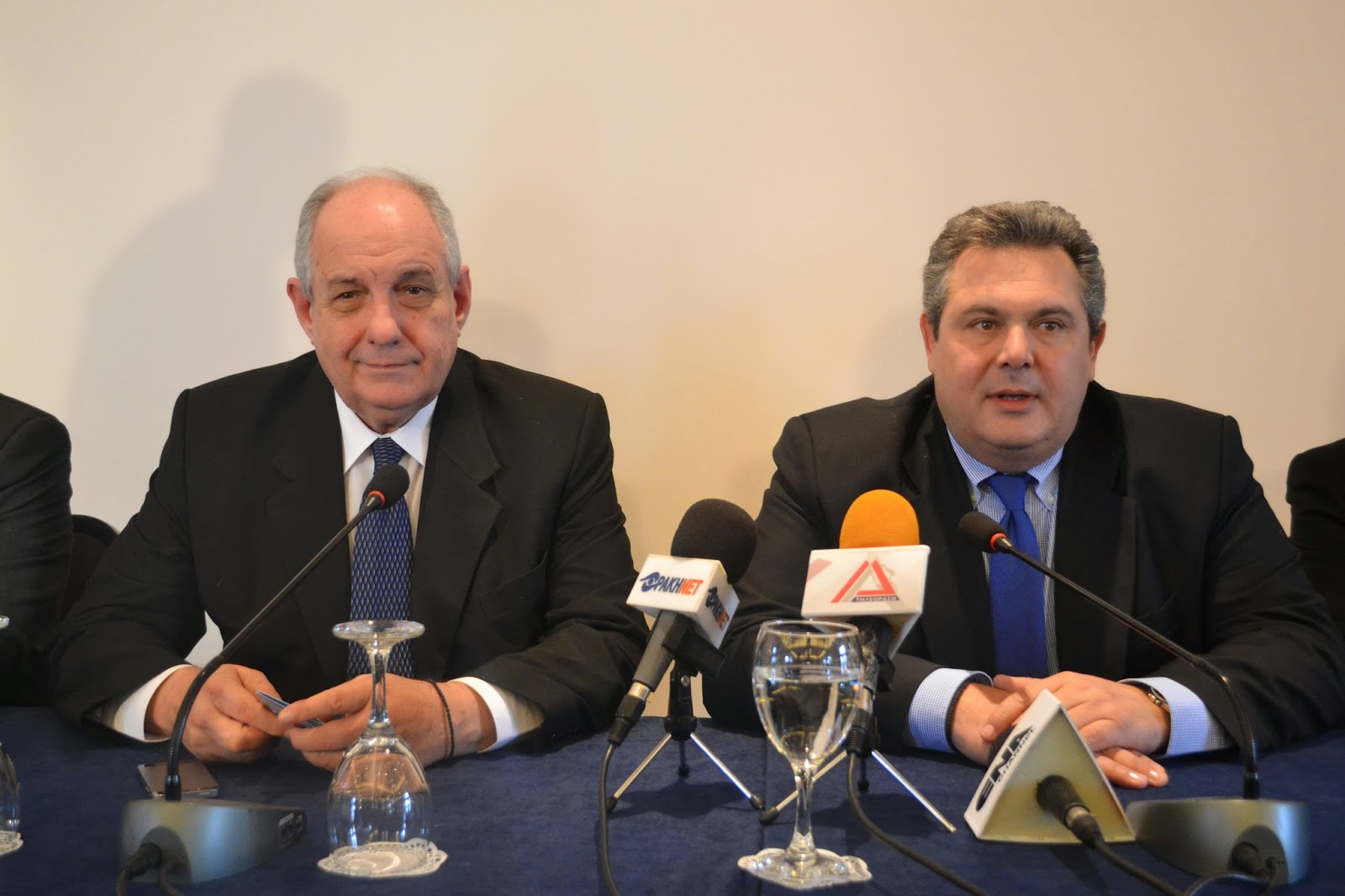 Kammenos: 'Our priority is National sovereignty and accountability for the Bankruptcy