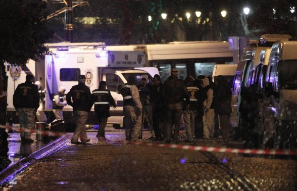 Suicide attack in Istanbul – One police officer dead