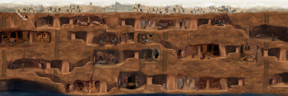 Important archeological discovery in Cappadocia
