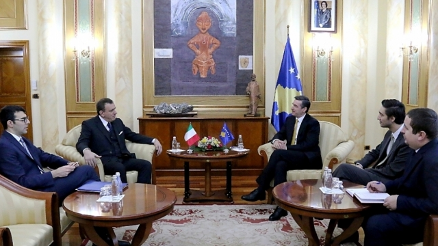 Italy's support is important for Kosovo, says speaker of parliament