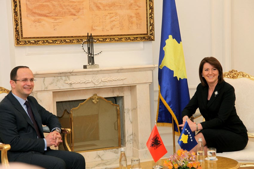 Kosovo and Albania together in the European path
