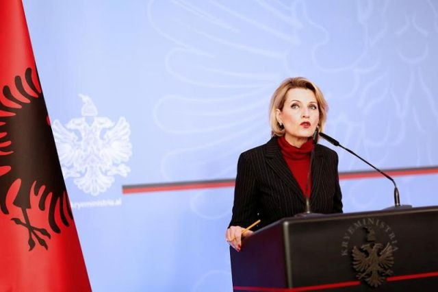 Nato is facing dangers from east and south, says Albanian Defence Minister